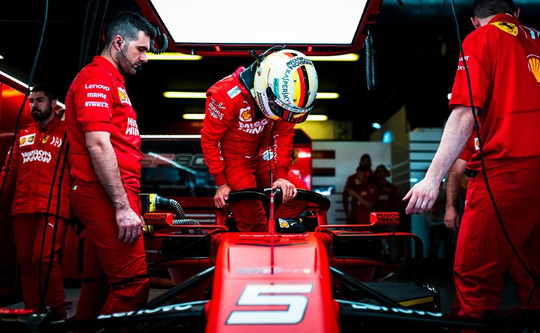Formula 1: Vettel per la prima volta sulla nuova Ferrari