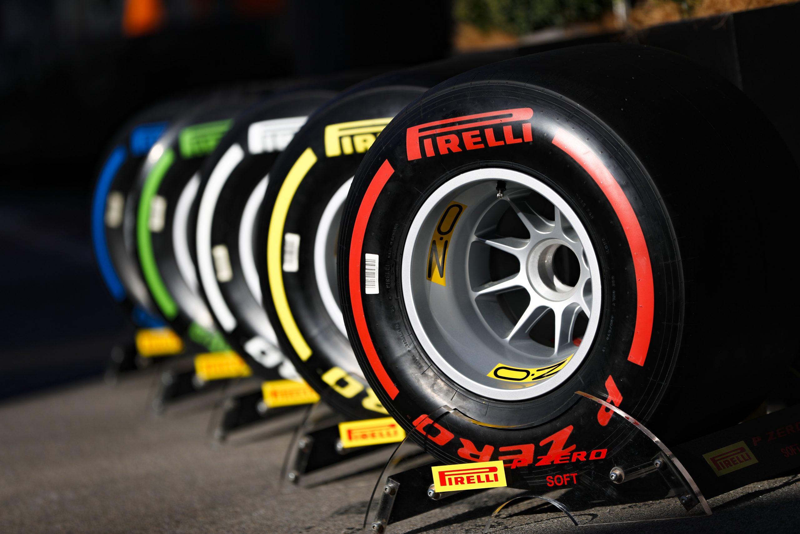Pirelli, rivelate le mescole per le prime otto gare del 2020