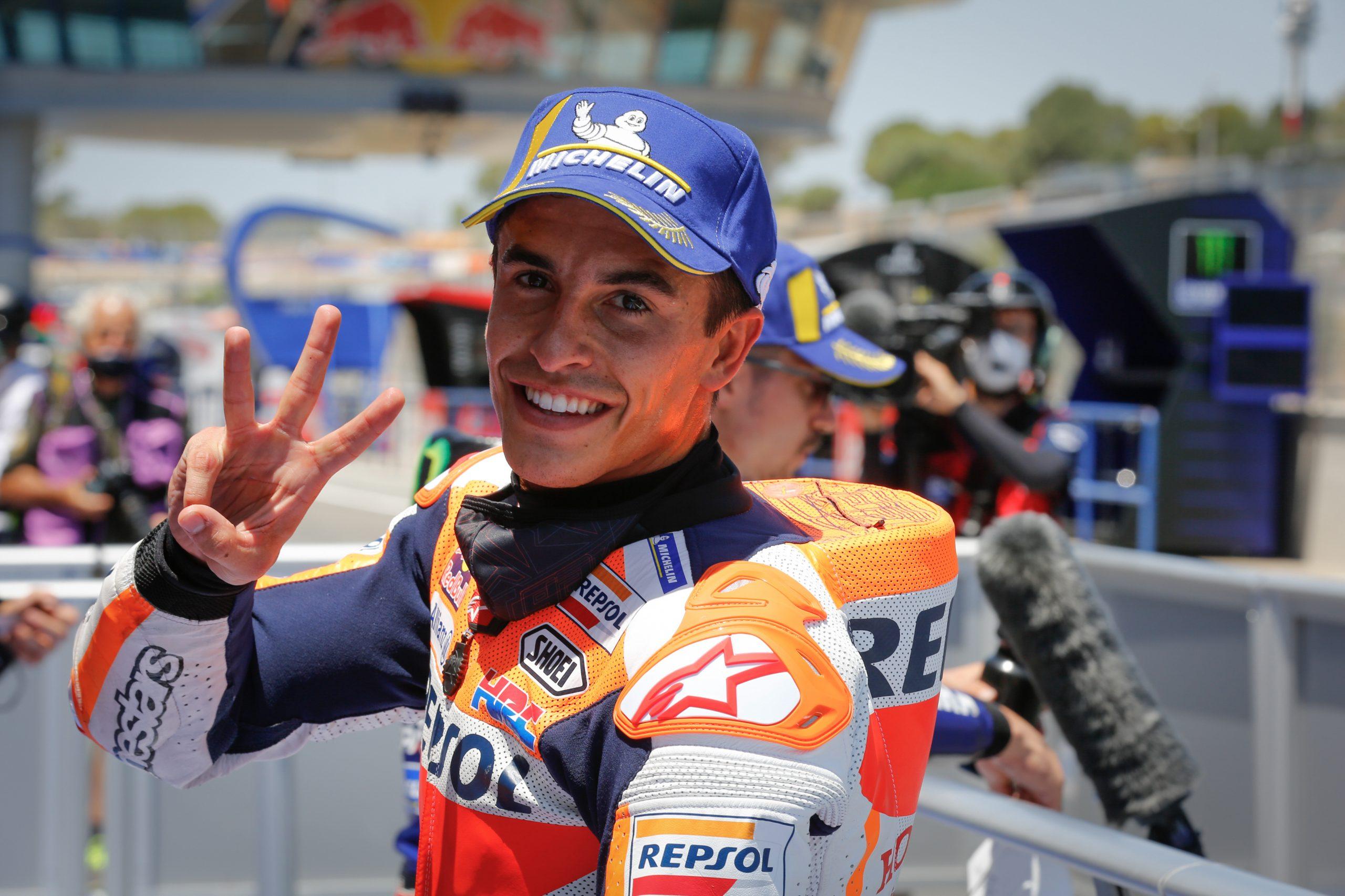 MotoGP, Marquez torna ad allenarsi: