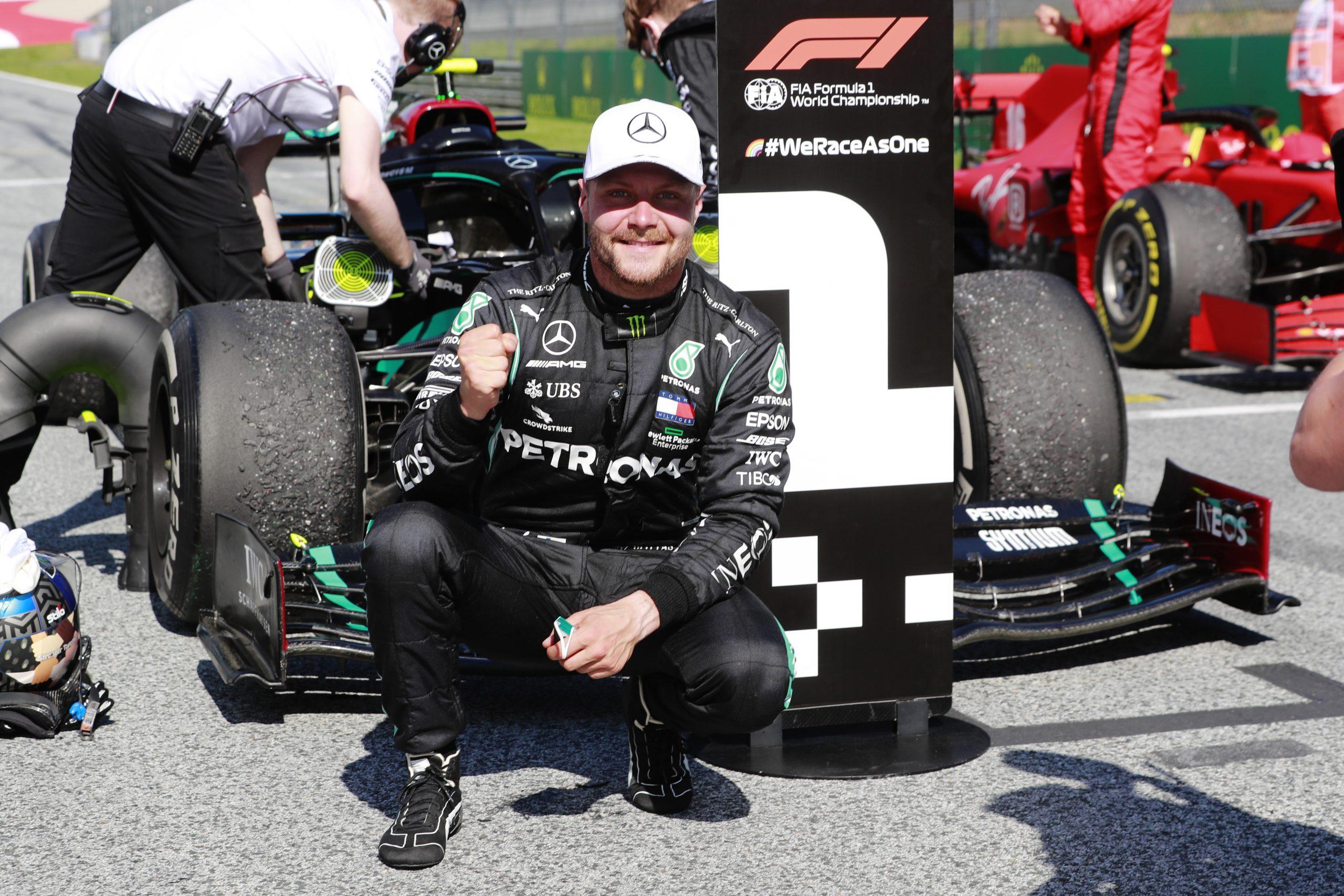 F1, ufficiale: Bottas rinnova fino al 2021 con la Mercedes