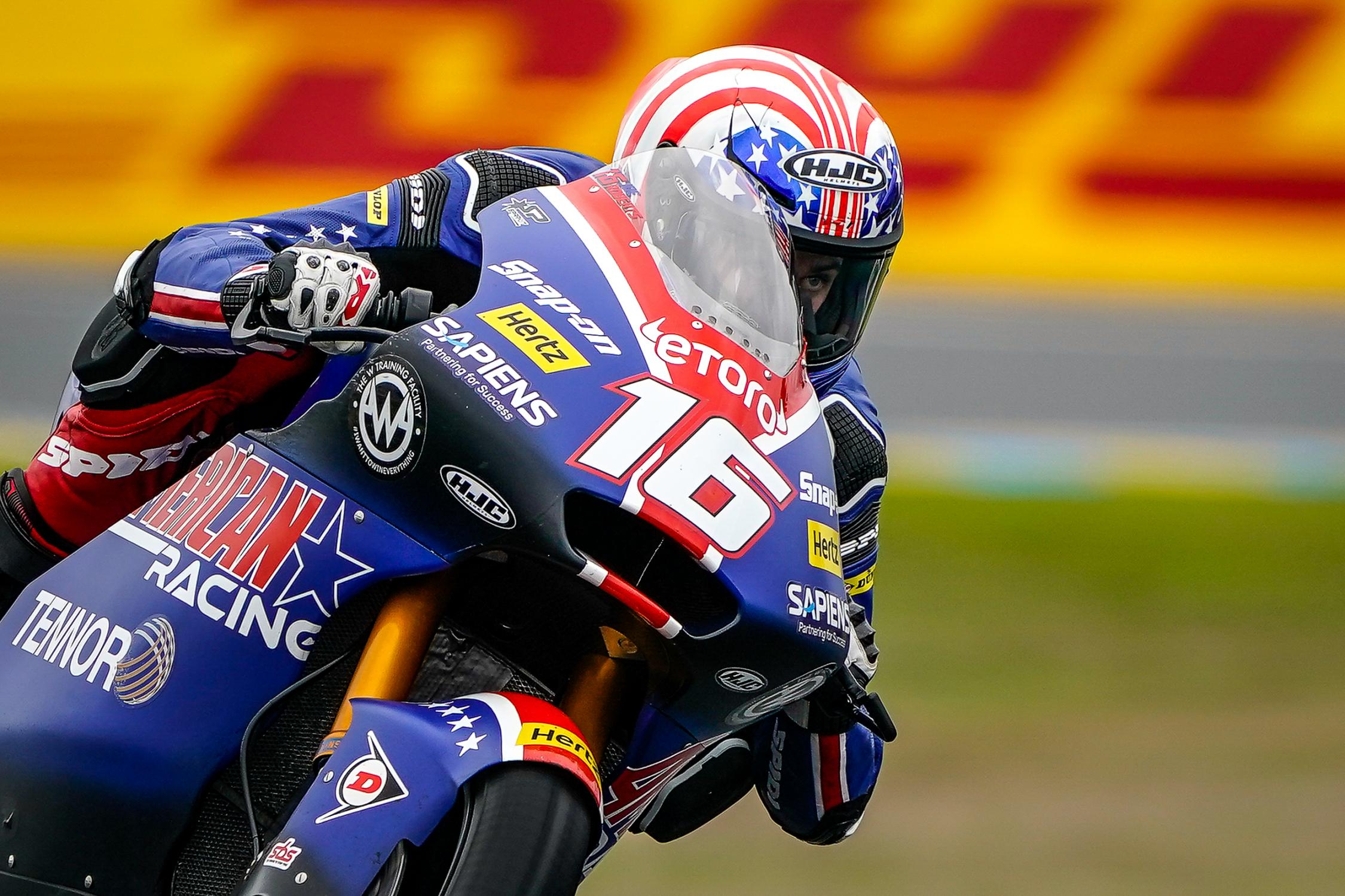 Gp Francia: Moto 2, brutta caduta per Luca Marini