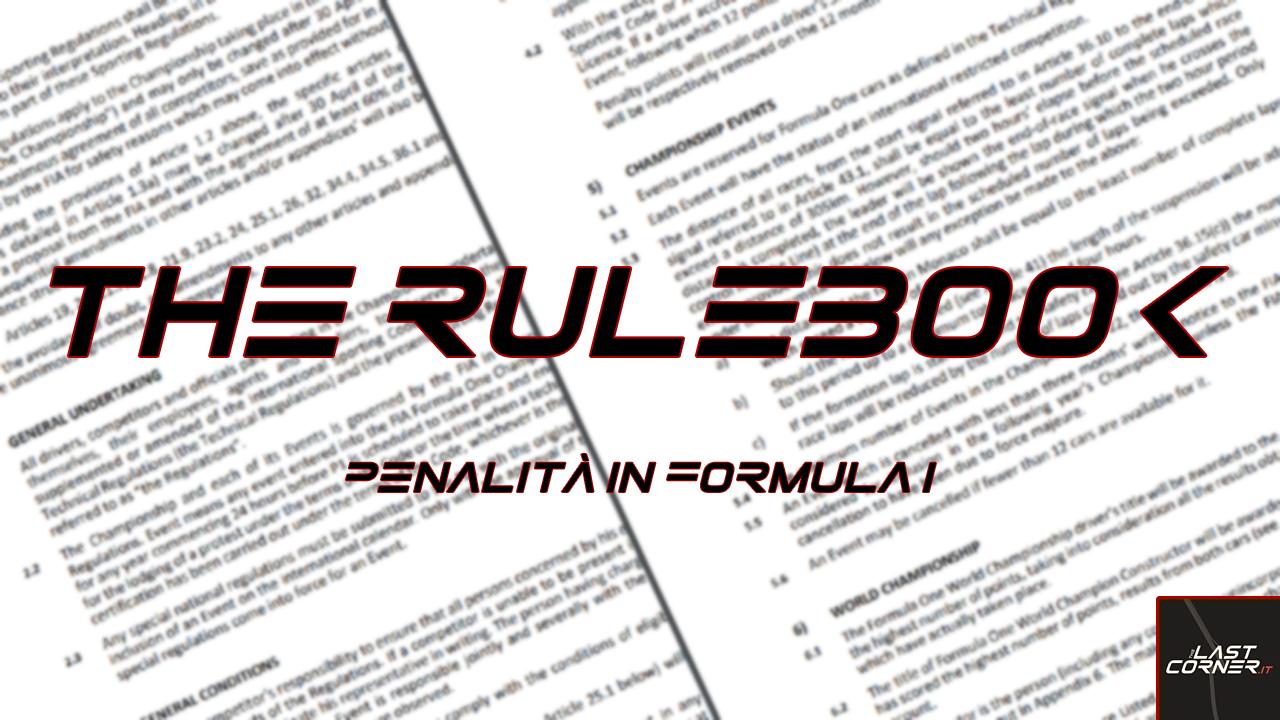 The Rulebook | Ep. 2: Penalità in Formula 1