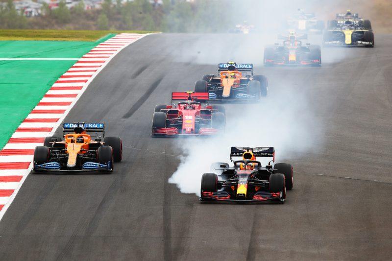 Azione durante il GP del Portogallo. | The Rulebook - Limiti di pista in Formula 1