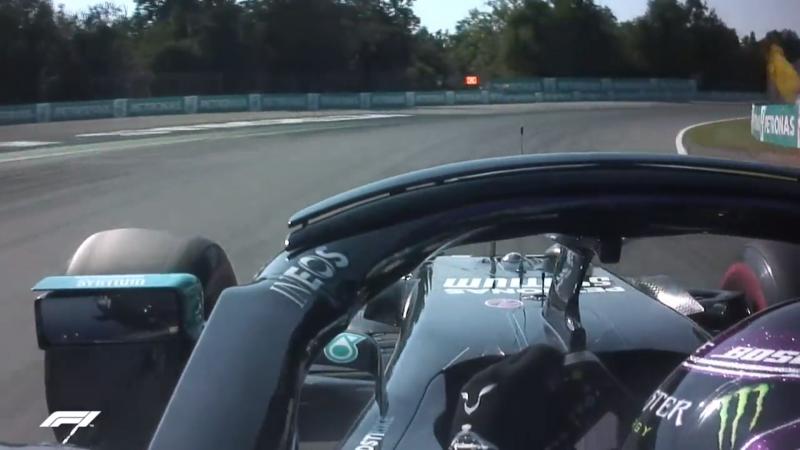 Penalità per Lewis Hamilton al GP d'Italia 2020.