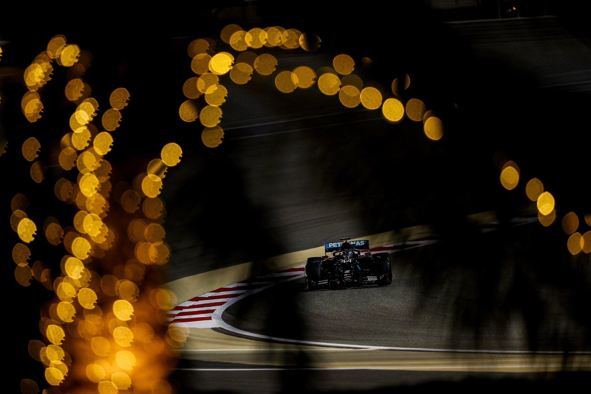 Mercedes Hamilton Bahrain