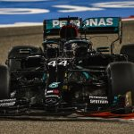 Hamilton vince in Bahrain