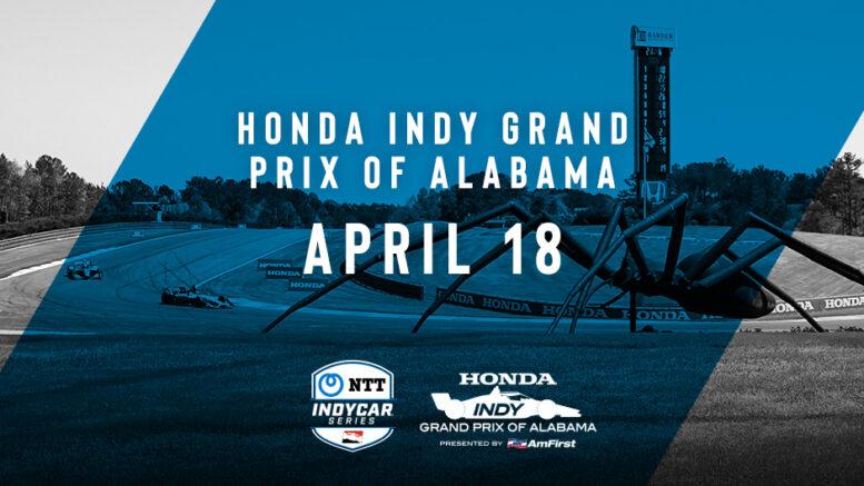 IndyCar   GP Alabama posticipato al 18 aprile