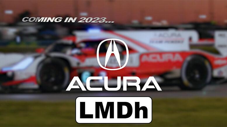 IMSA | Acura conferma il progetto LMDh per il 2023
