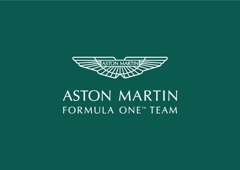 Aston Martin Formula One Team logo. 2021.