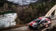 WRC Rally Montecarlo Evans