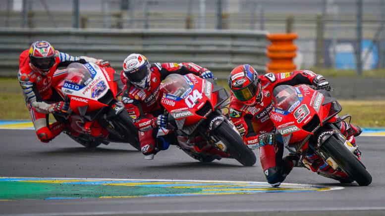 La Ducati in MotoGp fino al 2026. Firmato l'accordo con la Dorna