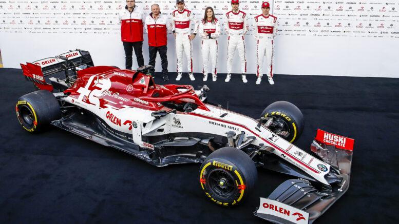 Alfa Romeo Racing annuncia la data di lancio della nuova vettura
