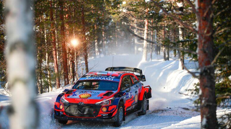 Tanak sabato WRC Arctic Rally Finland