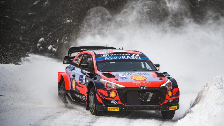 Tanak WRC Arctic Rally Finland