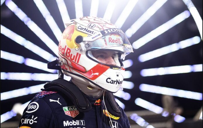 Mac Verstappen pole position
